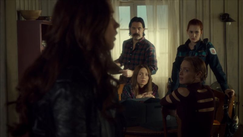 The gang in the Earp house.