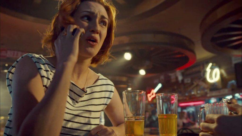 Nicole in the strip club